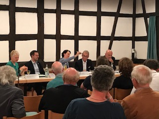 Podiumsdiskussion 23.4.18 Kelter Winterbach